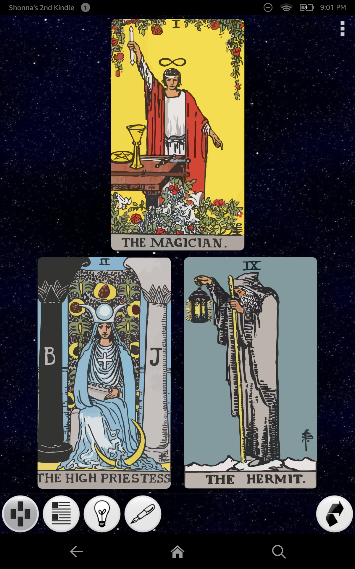 Amazon.com: Galaxy Tarot: Appstore For Android