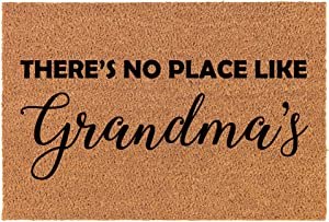 Coir Doormat Front Door Mat New Home Closing Housewarming Gift There's No Place Like Grandma's Grandmother (30