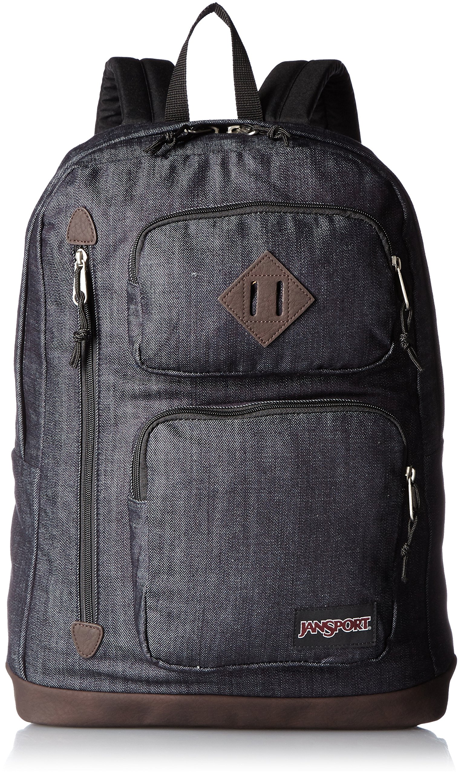 JanSport Houston Laptop Backpack- Discontinued Colors (Blue Denim - Expressions)