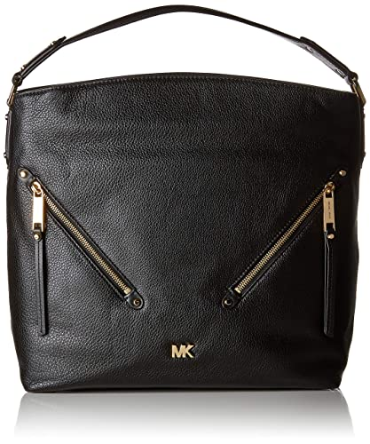 6507d7c531ff Michael Kors Womens Evie Shoulder Bag Black (BLACK): Amazon.co.uk ...