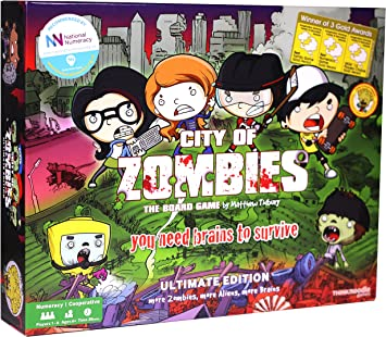 City of Zombies Maths Board Game - The Ultimate Edition: Amazon.es ...