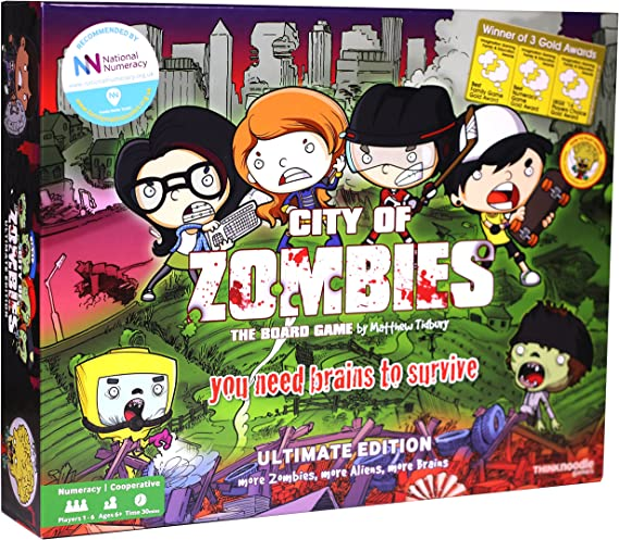 City of Zombies Maths Board Game - The Ultimate Edition: Amazon.es: Juguetes y juegos