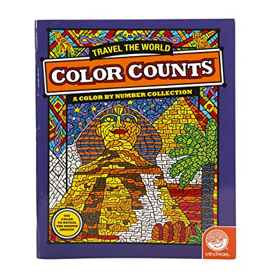 MindWare Color Counts: Travel The World: Toys & Games [5Bkhe0202909]