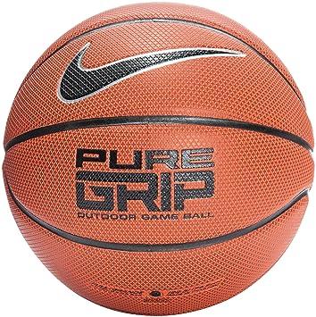 Ballon Nike De Basketball Ot Grip Orangenoirplatine Pure Men's pqwq7HR