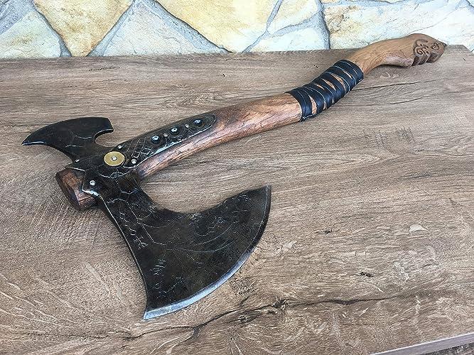 Amazon com: Kratos axe, Leviathan axe, God of War, cosplay axe, mens