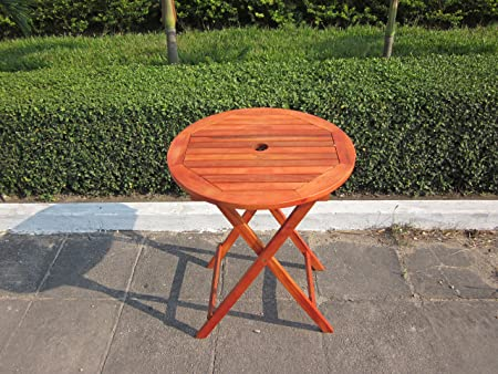hardwood wooden folding round garden table folding wood chairs