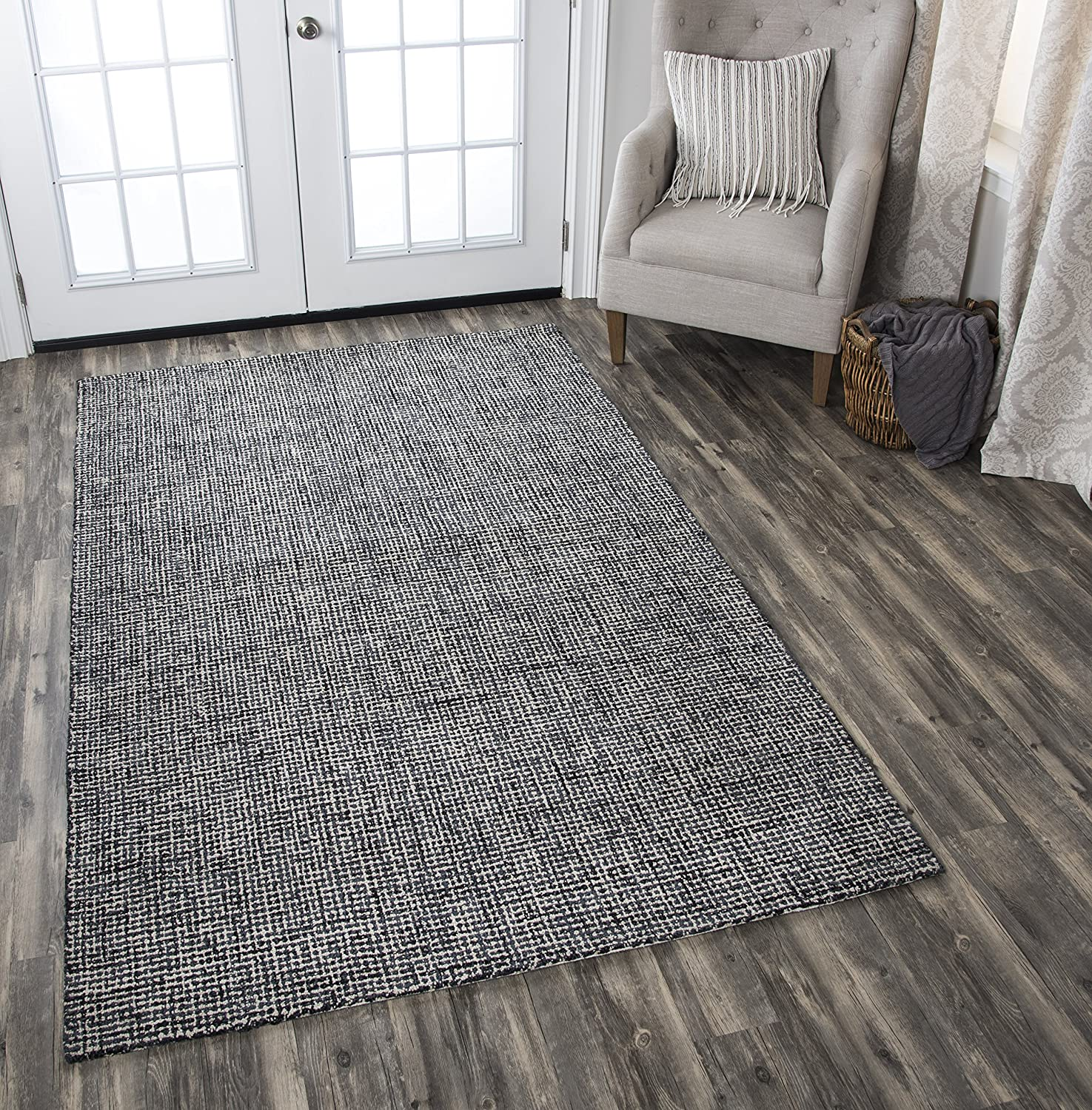Rizzy Home BR652A Brindleton Hand-Tufted Area Rug 26 x 8 Orange