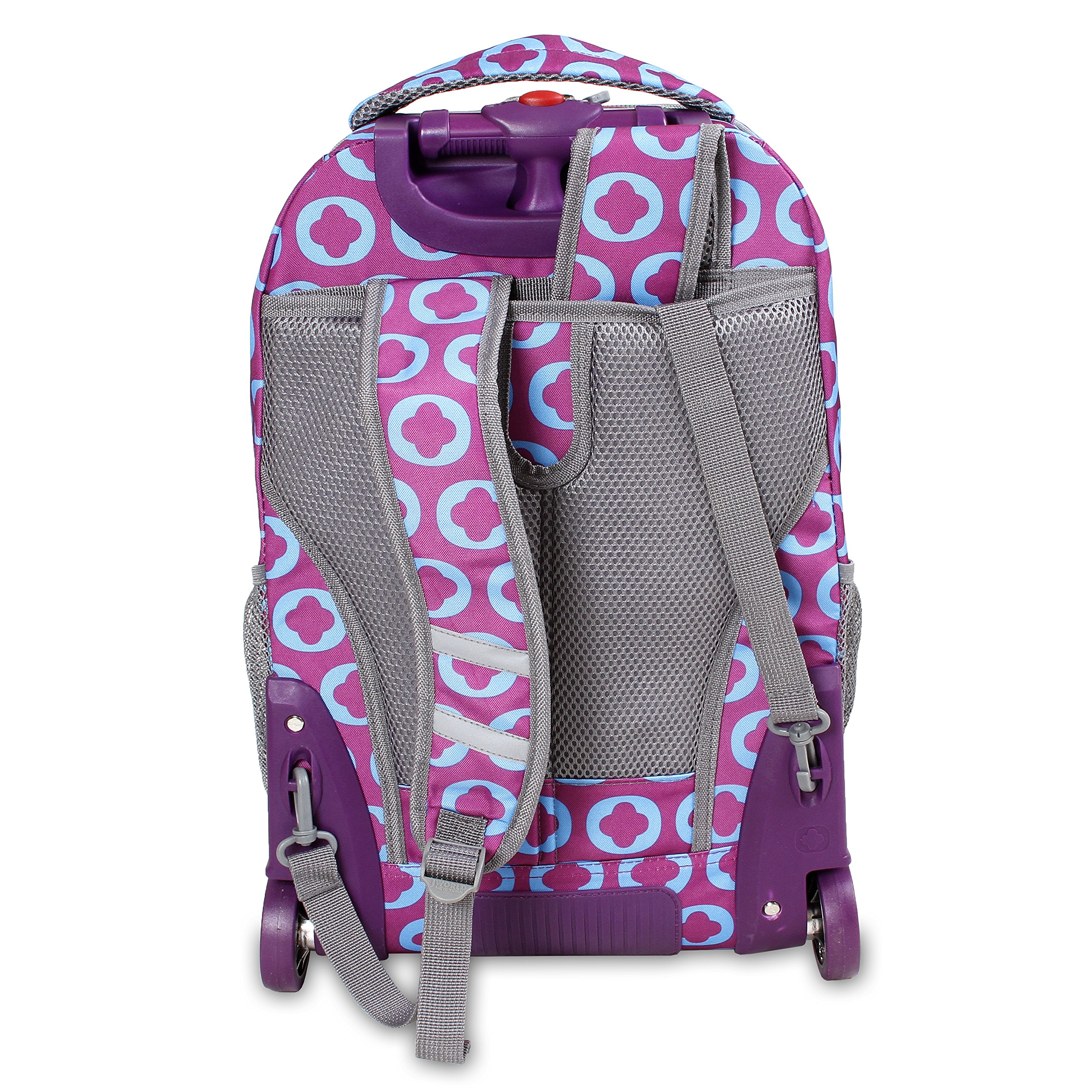 2724d26e1 J World New York Sunny Rolling Backpack | Building Materials Bargain ...