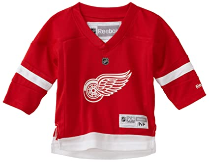 promo code 60c3a 6e10d NHL Infant Detroit Red Wings Team Color Replica Jersey ...