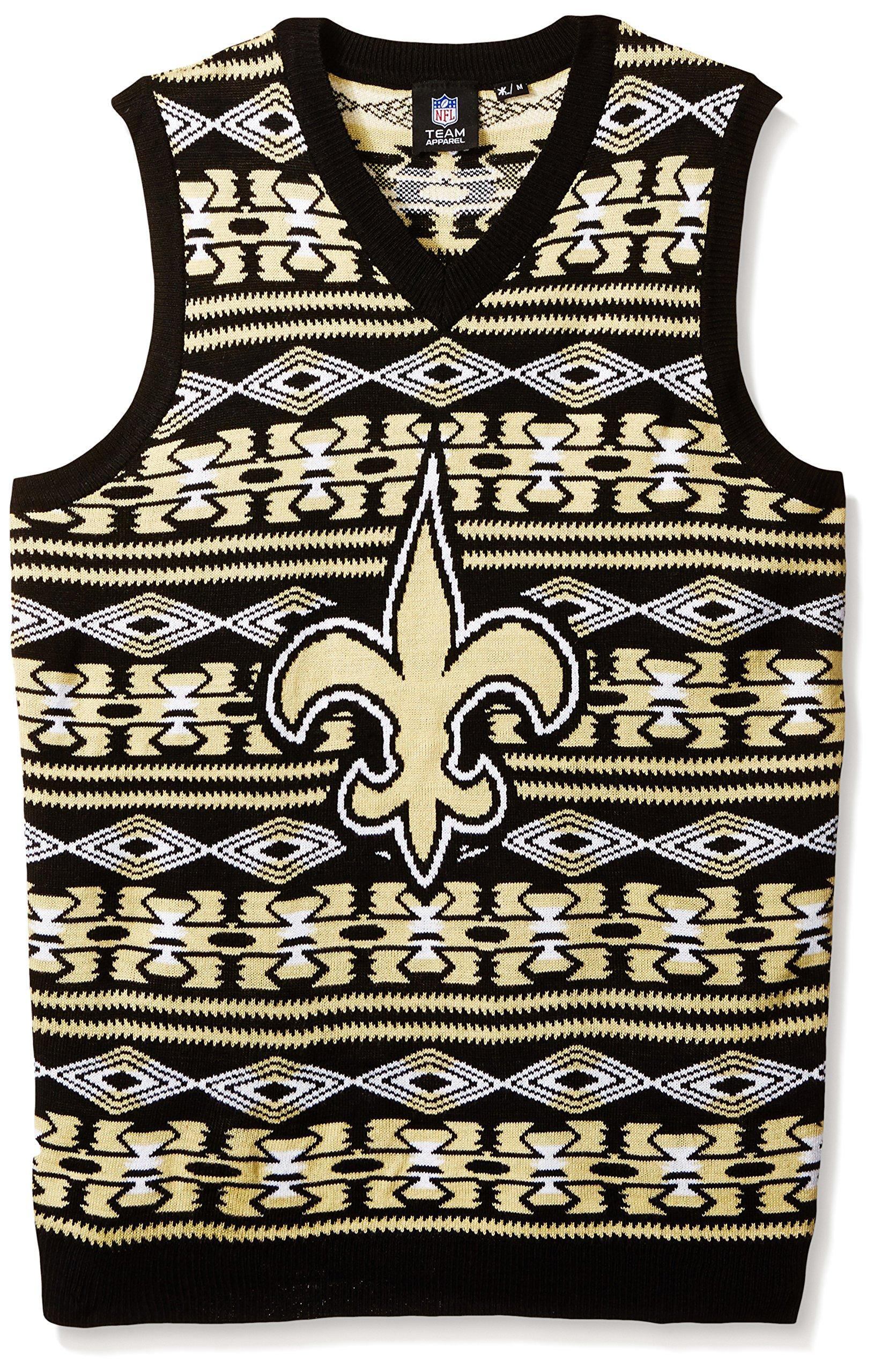 best service 7c71d 708a6 FOCO NFL San Diego Chargers Aztec Print Ugly Sweater Vest, XX-Large, Team  Color