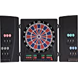 Elektronische Dartscheibe Dartona CB160 Cabinett - Turnierscheibe mit 33 Spielen und über 160 Varianten