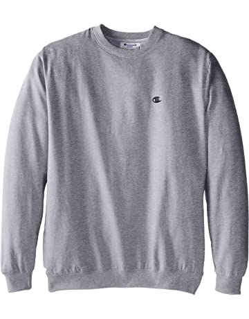 e7676f3afbe3 Champion Men's Big-Tall Fleece Crew Sweatshirt