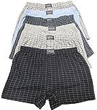 Sockstack® 12 Pairs Men's Boxer Shorts Underwear, Cotton Rich Boxers, S-6XL