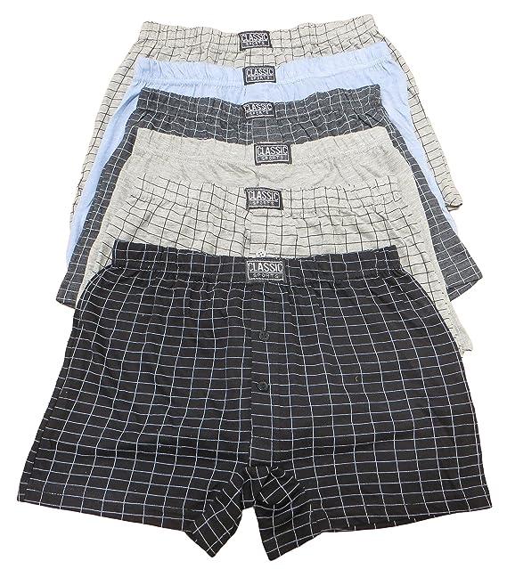 großer Abverkauf das Neueste Entdecken Sie die neuesten Trends Sockstack® 12 Pairs Men's Boxer Shorts Underwear, Cotton Rich Boxers, S-6XL