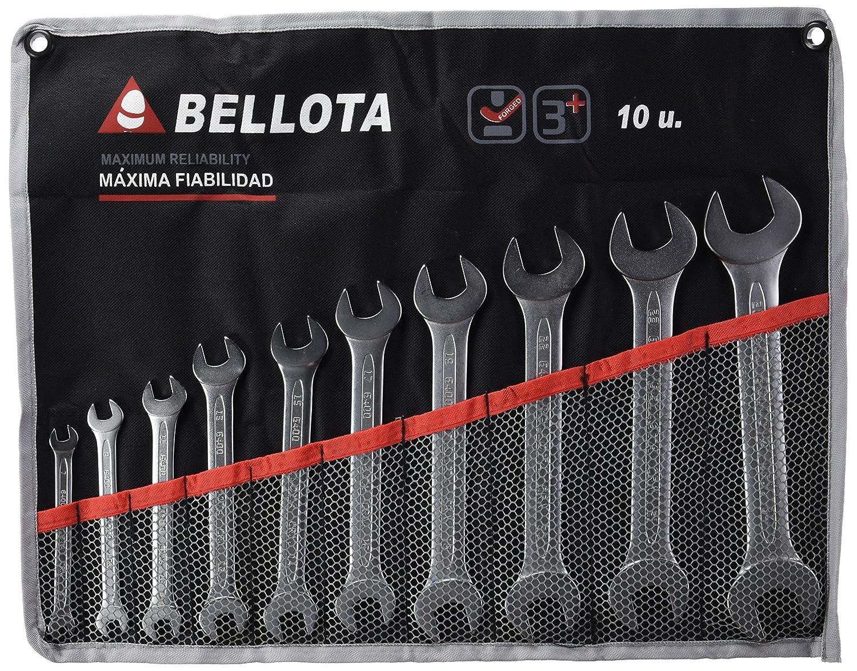 Bellota 6490-10 juego 10 llaves fijas