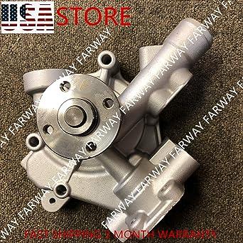 Amazon com: Water Pump for Komatsu 4D98E-1A 4D94E-1A D21A-7T