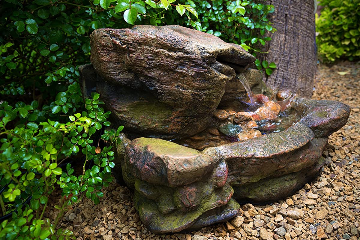 Kimball Rock Water Fountain: Outdoor Water 