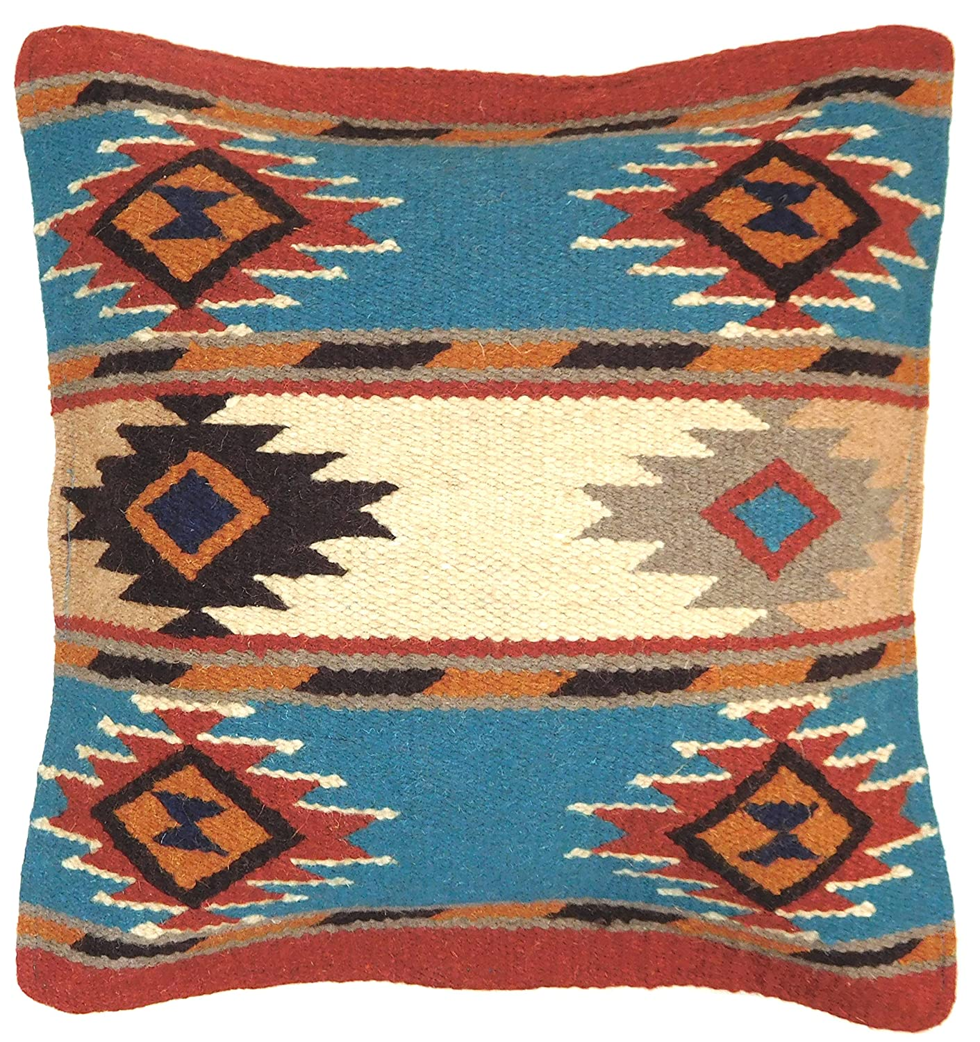 Amazon.com: Throw Pillow Covers, 17 X 17, Hand Woven in Southwest ...