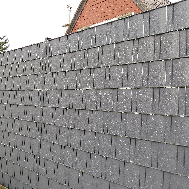 Amazon De Sichtschutz Fur Doppelstab Stabgitter Zaun 4x 35m 140m