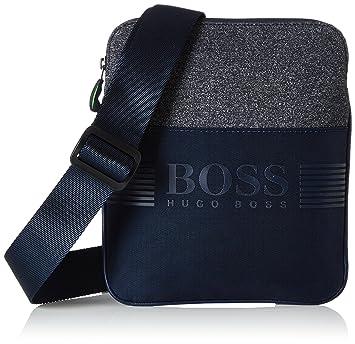 de807850cd Amazon.com | Boss Green Pixel Mens Cross Body Bag Blue | Messenger Bags