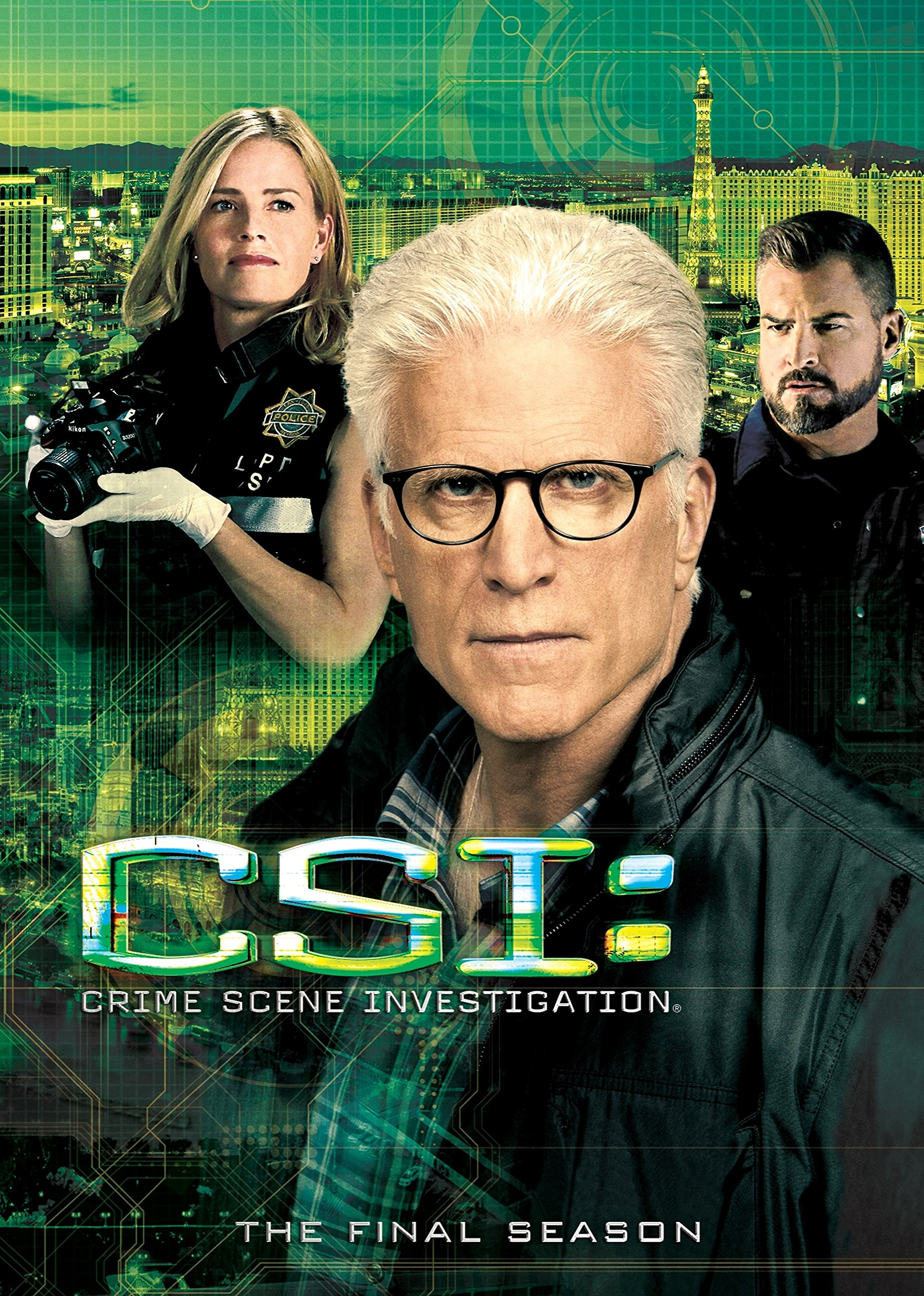 DVD : CSI: The Fifteenth Season (Final Season) (Boxed Set, , AC-3, Widescreen, Sensormatic)
