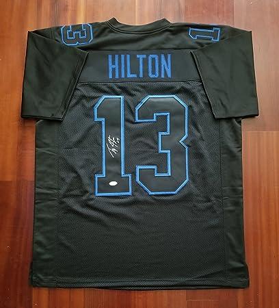best service da451 c46b2 TY Hilton Autographed Signed Jersey Indianapolis Colts JSA ...