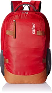 Safari 40 Ltrs Red Laptop Backpack  Brisk  Laptop Backpacks