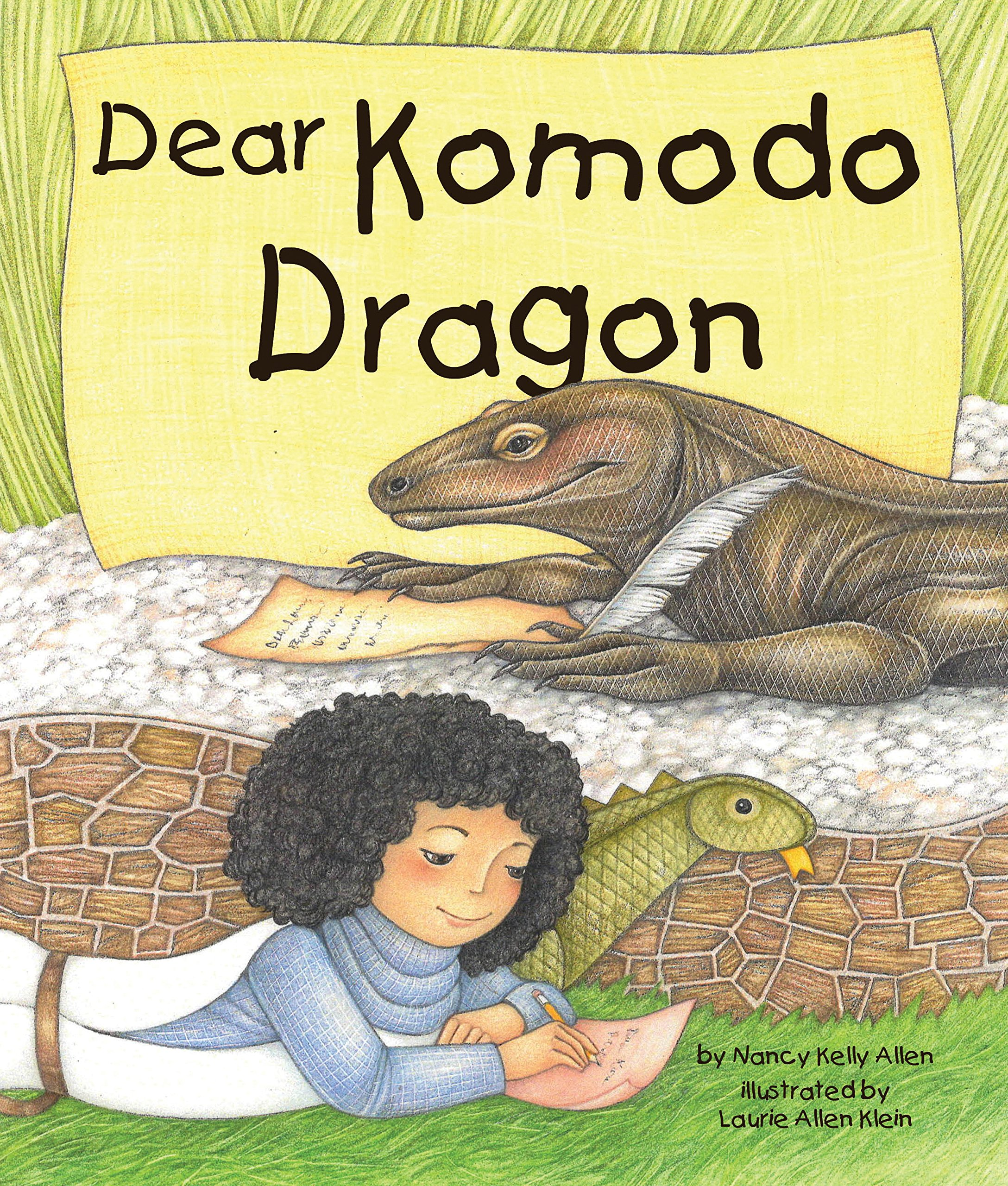 Dear Komodo Dragon by Arbordale Publishing