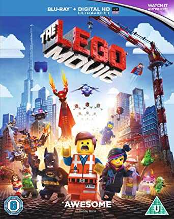The Lego Movie Blu-ray + UV Copy 2014 Region Free: Amazon.co.uk ...