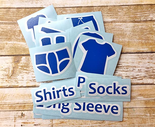 Amazon Com Dresser Labels For Boys Chest Of Drawers Clothing