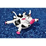 "Swimline 90268 - LOL 54"" Cow Inflatable Ride-On Pool Toy by Swimline"