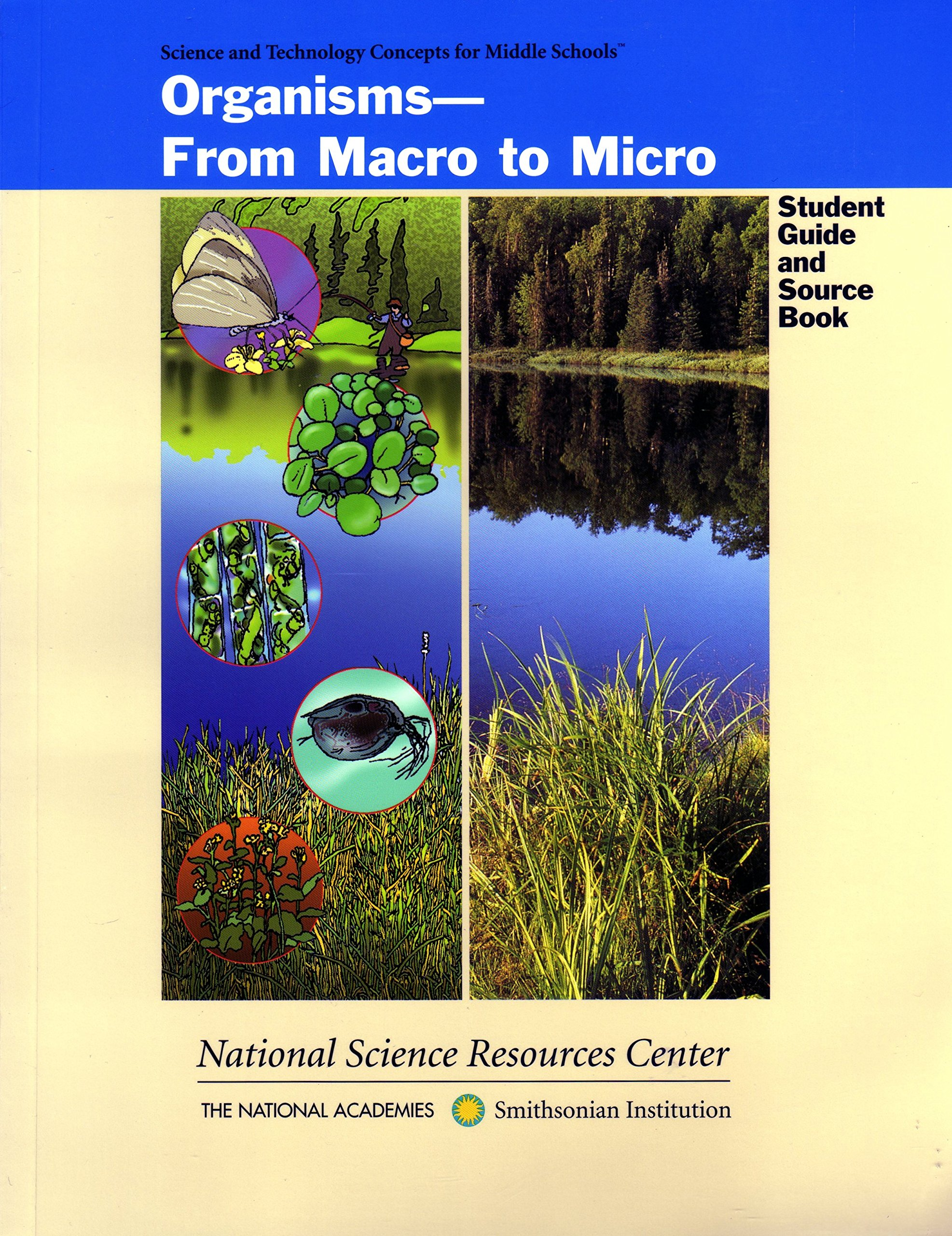 Read Online Organisms: From Macro to Micro (Science and Technology for Middle Schools) pdf
