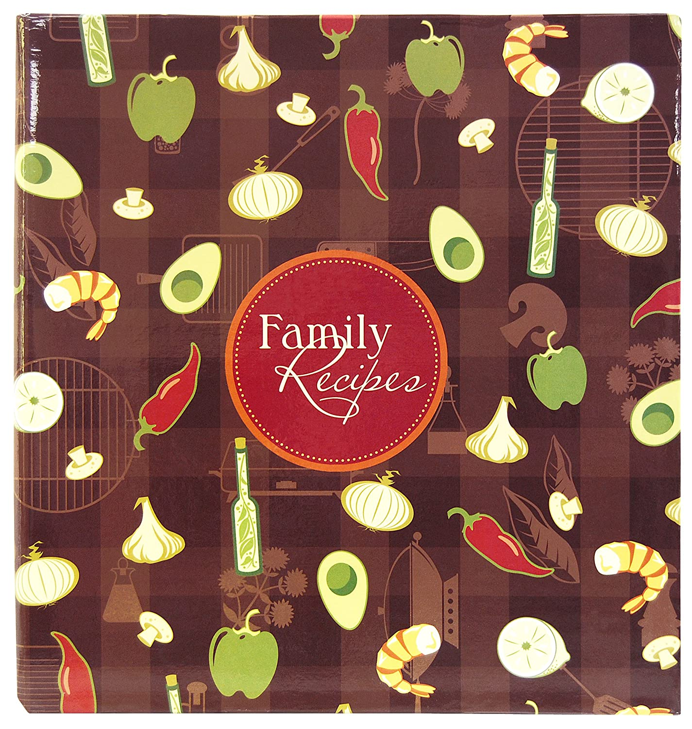 MCS 881850 MBI Family Recipes 3-Ring 5-Inch-by-7-Inch Scrapbook Kit, Recipe Cards MCS Industries Inc.