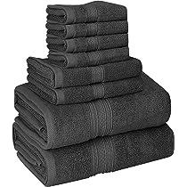 Utopia Towels - 700 GSM Juego de toallas de 8 piezas; 2 toallas de baño ...