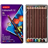 Derwent Colored Pencils, Drawing, Art, Colorsoft, 12-Pack (0701026)