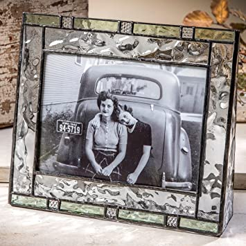 Amazoncom J Devlin Pic 385 57h Green Stained Glass Photo Frames
