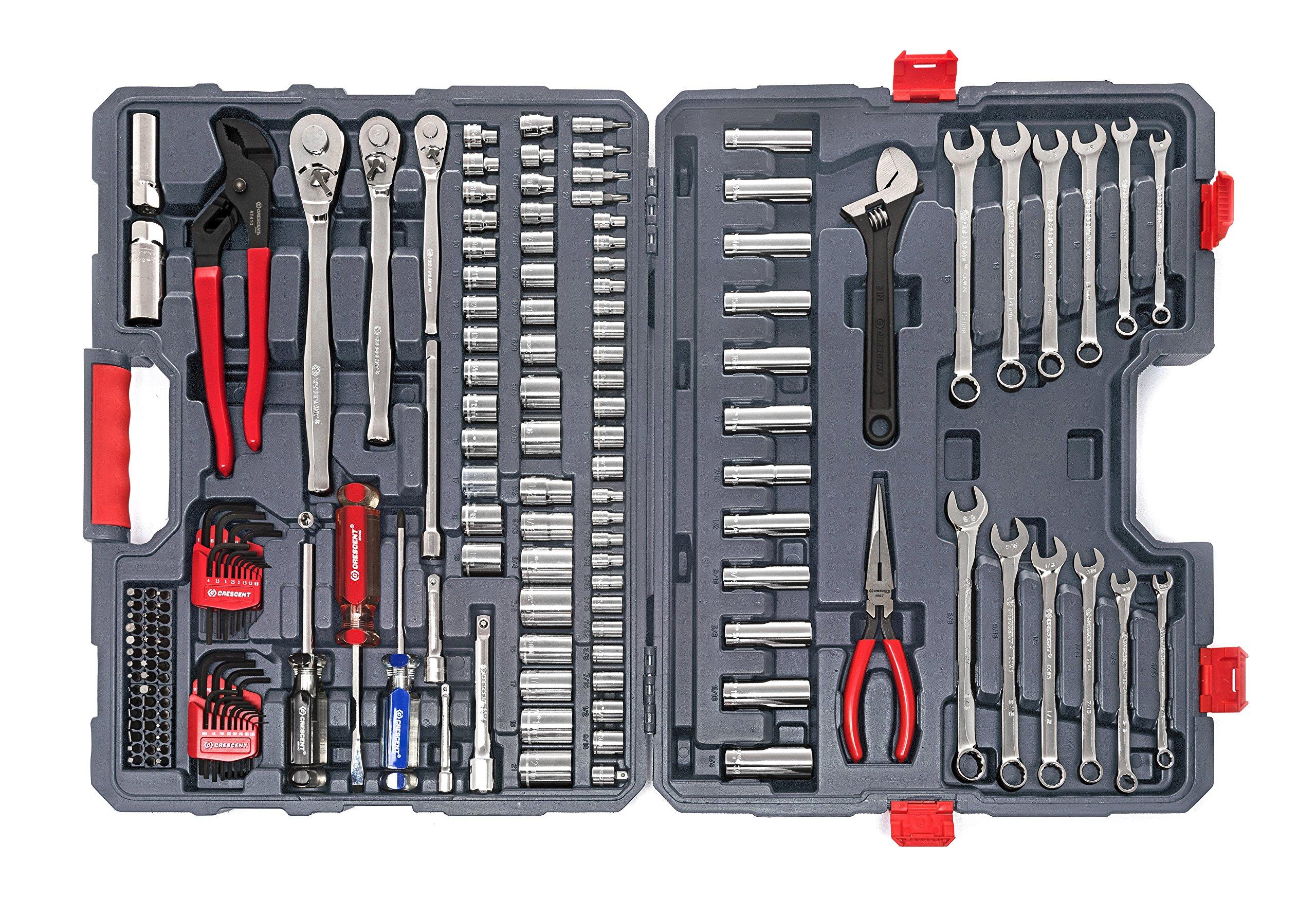Crescent CTK170MPN Mechanics Tool Set (170 Piece) by Crescent