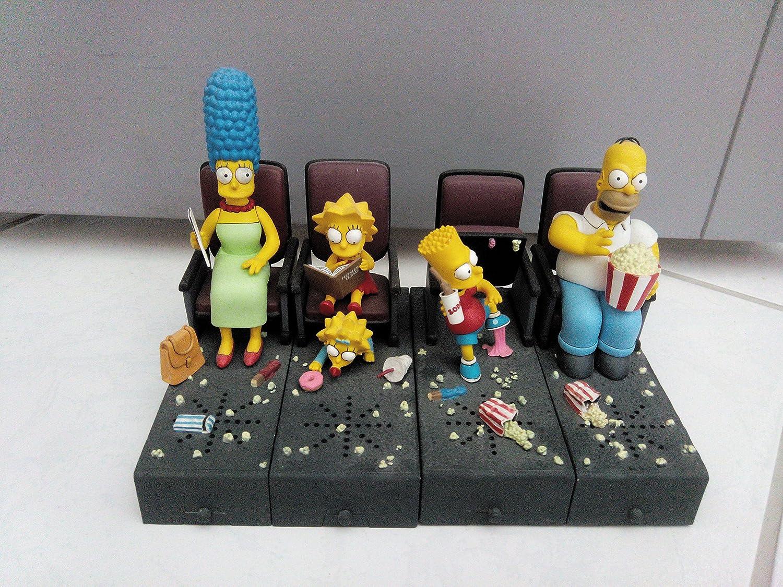 Amazon Com Mcfarlane The Simpsons Movie Bart Figura De Mayhem Toys Games