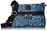 Kipling Women's Angie Printed Convertible Crossbody Bag, DZSRLNGBLU