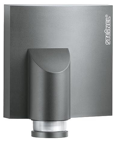 Steinel IS NM 360 Detector de movimiento y interruptor crepuscular en antracita, Pasivo de Sensor