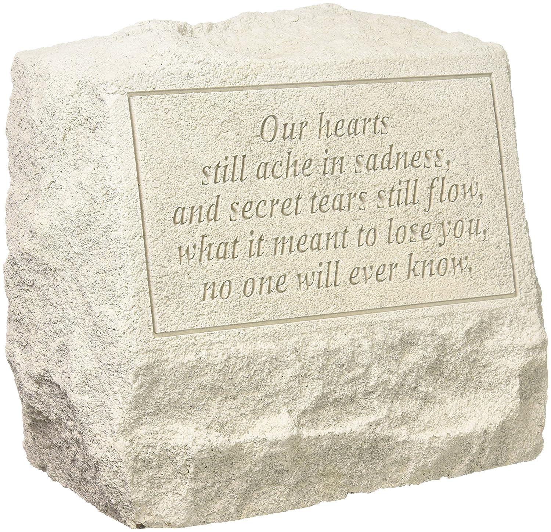 Design Toscano Our Hearts Still Ache in Sadness Cast Stone Pet Memorial Statue