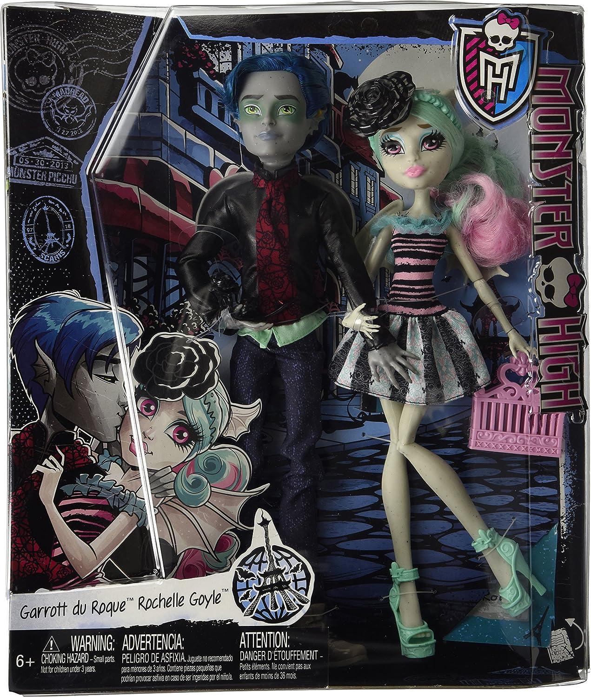 Amazon.es: Monster High - Pack Love in Scaris - Garrott du Roque y Rochelle Goyle: Juguetes y juegos