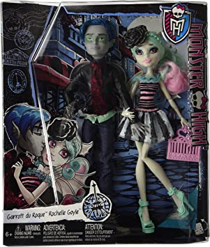 Amazon.es: Monster High - Pack Love in Scaris - Garrott du Roque y ...