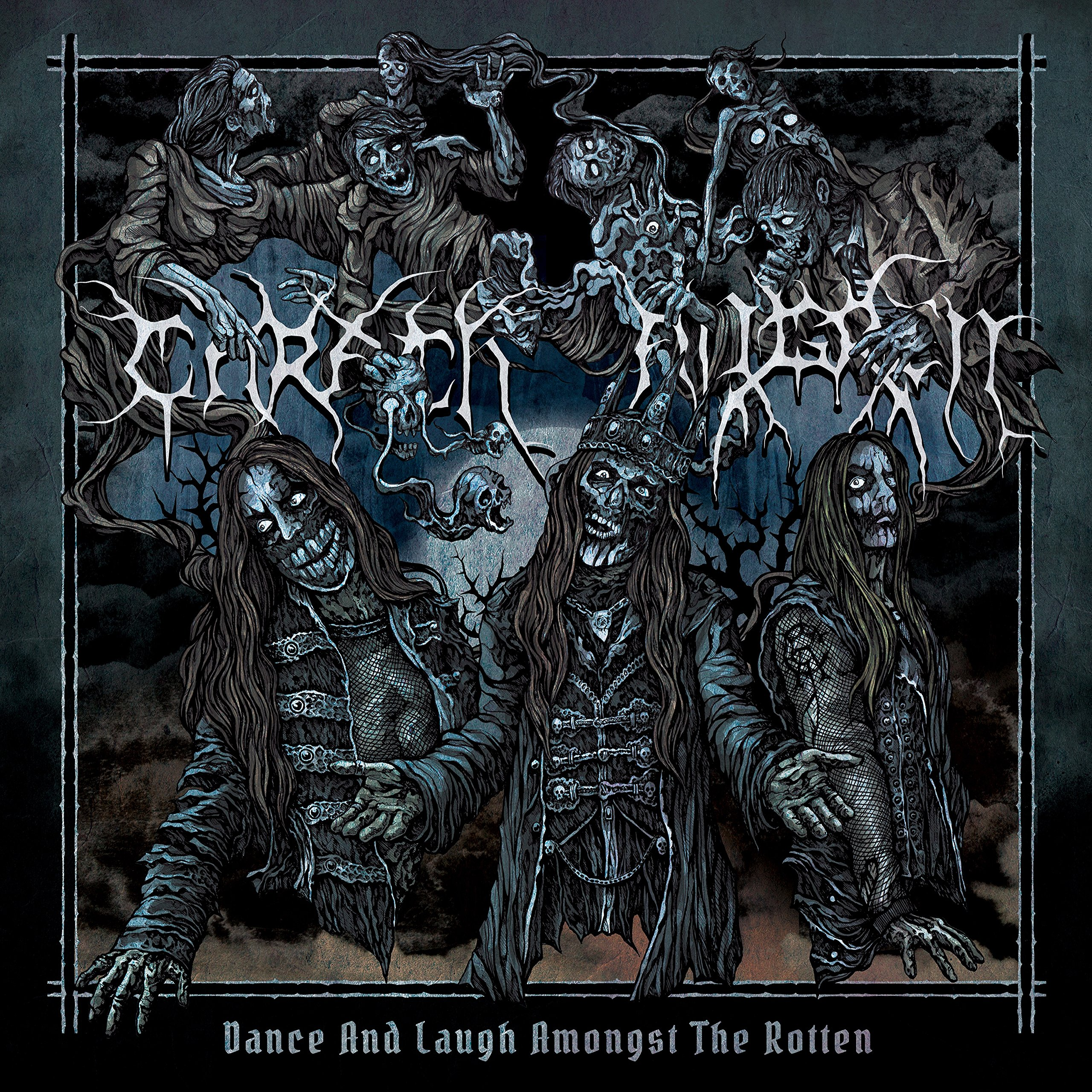 Cassette : Carach Angren - Dance And Laugh Amongst The Rotten (Cassette)