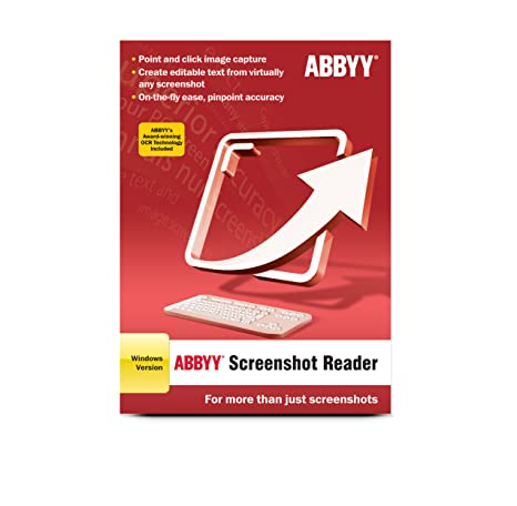 ABBYY Screenshot Reader Program Cost