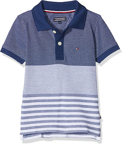 Tommy Hilfiger Structured Pique Polo S/S Niños: Amazon.es: Ropa y ...