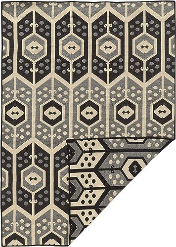 Linon Salonika Collection Veria Natural Fiber Rugs, 5 x 8 , Gray