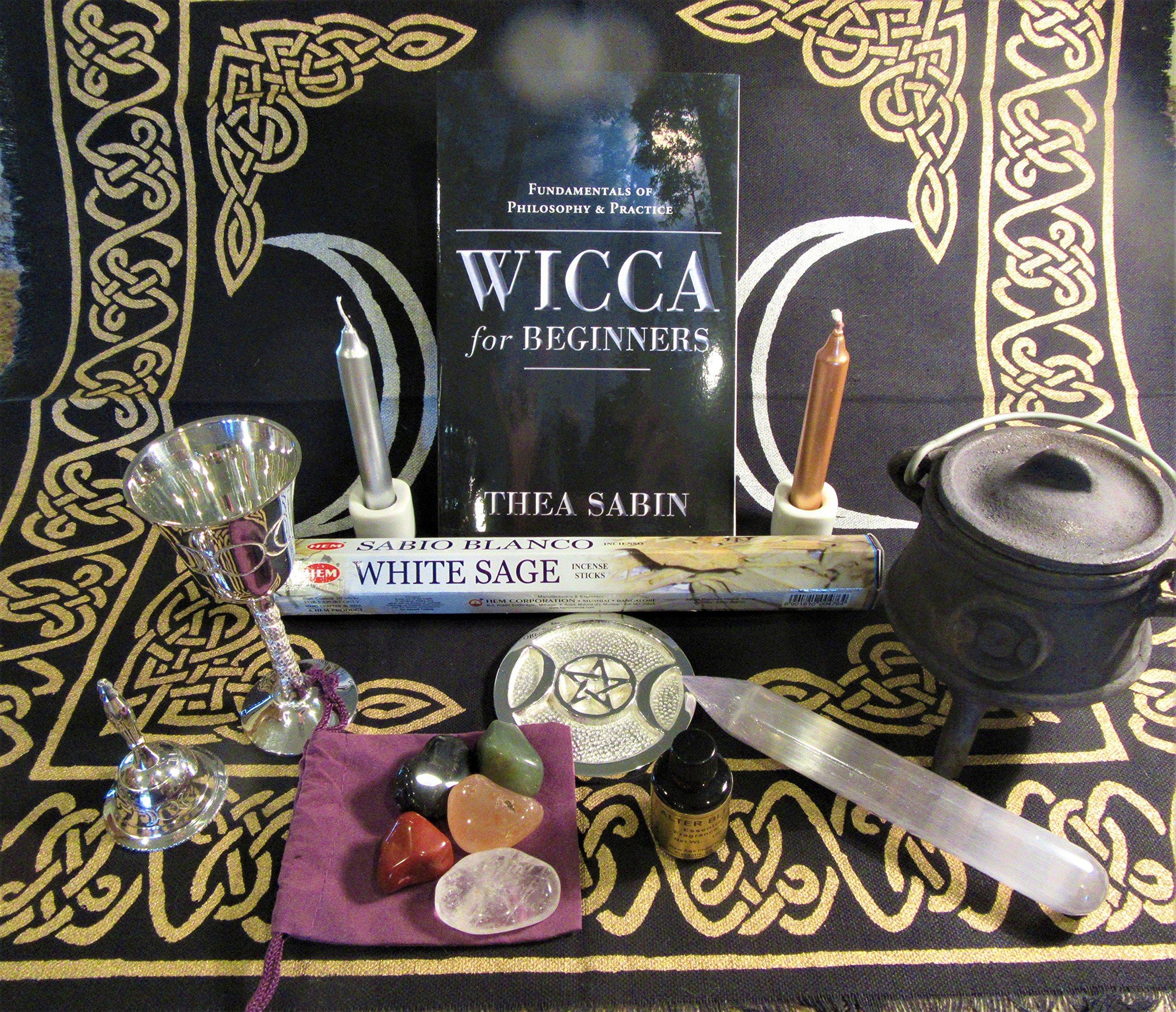 Wiccan or Pagan Altar Kit by Pagan Portal