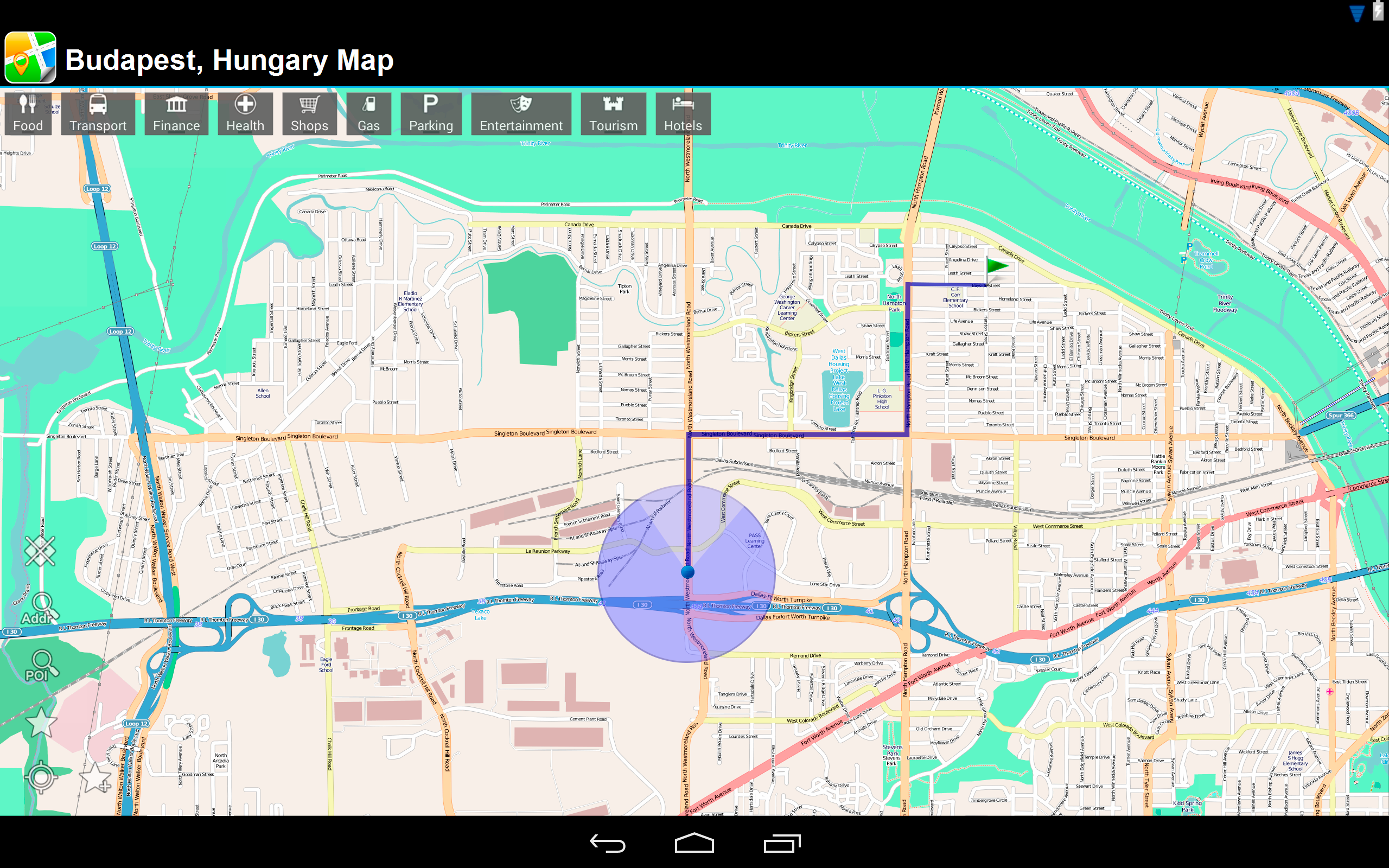 Amazon.com: Budapest, Hungary Offline Map: PLACE STARS: Appstore for ...
