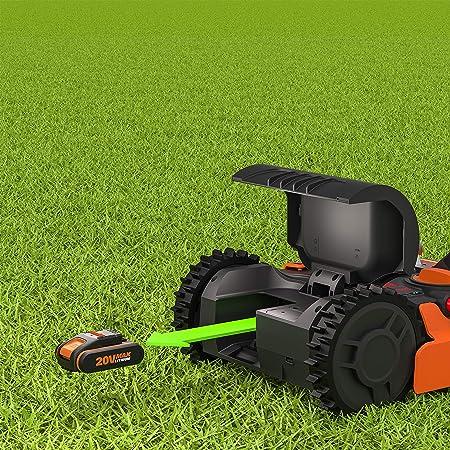 Worx WR130E Robot Cortacésped Landroid S 300 Wifi, Multicolor, Única